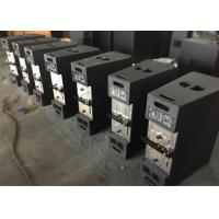 China Black Line Array Loudspeakers Systems , Portable Line Array Speaker System wholesale