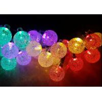 Buy cheap 19.7 Ft  Crystal Ball LED Solar Fairy String Lights For Holiday Decoration from wholesalers