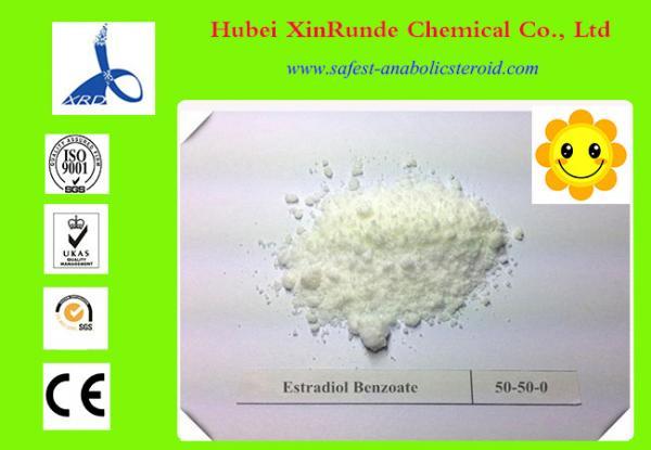 Quality Testosterona fêmea das hormonas do benzoato de Estradiol e esteroides anabólicos CAS 50-50-0 for sale