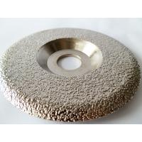 China Plate Shaped  Diamond Grinding Wheel / Artificial Stone Diamond Grinding Disc wholesale