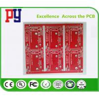 China Red Solder Mask Electronic Circuit Board Assembly , Double Sided Pcb Board 2oz on sale