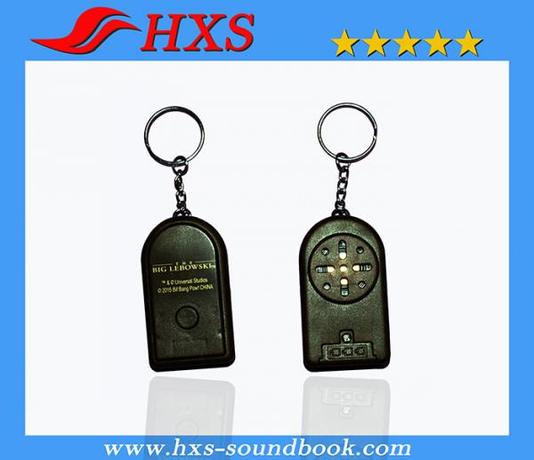 Quality Professional Manufacturer High Quality Promotional Gift Music Keychain for sale