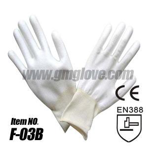 White Polyurethane Coated Working Gloves
