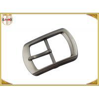 Single Pin Metal Center Bar Replacement Belt Buckles Zinc Alloy Material