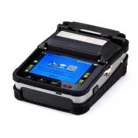 China AI 7 Fiber Optic Splicing Machine Automatic SM / MM FTTH Fusion Splicer wholesale
