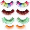 China Hot! Black colorful customized packaging false eyelash extensions wholesale