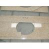 China Sunset Gold Granite Bathroom Vanity Tops , Custom Cut Size Granite Tile Countertop wholesale