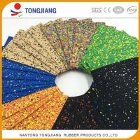 Quality Factory wholesale 2mm-12mm EPDM Color speckled rubber flooring gym roll for sale