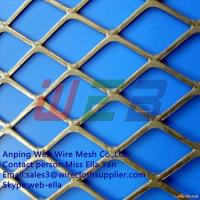China Flattened expanded metal  for construction (Anping Manufacturer) wholesale