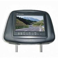"China 7"" HD 800*480 car headrest monitor built in DVB-T Tuner for Benz M ML-W163 wholesale"
