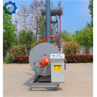 China Horizontal Hot Oil Industry Thermic Fluid Heater Thermal Oil Boiler For Road Construction wholesale