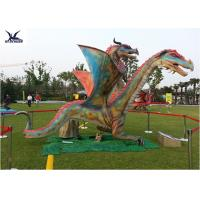 China Outdoor Exhibition Animatronic Dinosaur Lawn Statue Artificial Dragon Statue wholesale