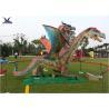 China Remote Control Outdoor Exhibition Dinosaur Lawn Decorations Artificial Dragon Model wholesale