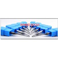 China 0.6 UM Grain Size End Milling Cutter , Long Neck Square Solid Carbide End Mills wholesale