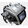 China Vacuum RF Cavitation Machine , Fat Reducing Slimming Treatment Machine wholesale