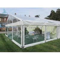 China Transparent PVC Fabric Cover Backyard Luxury Party Tents with Aluminum Frame wholesale