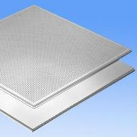 Fireproof False Aluminum Ceiling Tiles/Acoustic Panels with 0.5 to 1.2mm Thickness