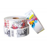 China Full Color Roll Product Paper Hang Tags Swing Custom Printing Eco - Friendly wholesale