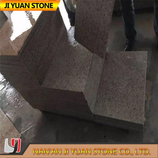 Quality Yellow Golden Sunset Rustic Rusty Natural Granite Tiles Commercial for sale