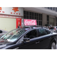 China Waterproof Taxi Roof Sign 12V P4 Taxi Top Led Display on sale