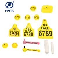 China 134.2khz Personalized Cattle Tracking Ear Tags wholesale