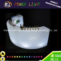 China Illuminated Plastic Led Modern Bar Counter Waterproof with Recharge Battery on sale