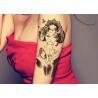 China Personalized Glitter Body Tattoo Stickers For Adults / Children Semi Permanent wholesale