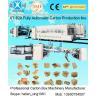 China La machine à emballer de carton de carton Slotter meurent - coupeur en ligne avec le dossier Gluer Bundler wholesale