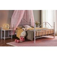China Mildew Proof Queen Size Metal Bed Smooth Finish Edges Save Space on sale