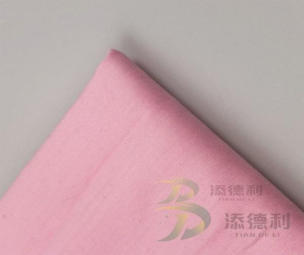 Quality cotton plain dyed fabric for sale