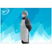 China Transparent  Disposable Plastic Aprons For Adults Polyethylene S-XXL wholesale
