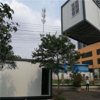 China fast assembly customize 20ft eps sandwich panel container house for 10 workers on sale