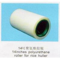 China 14 inch Pu rubber roller wholesale
