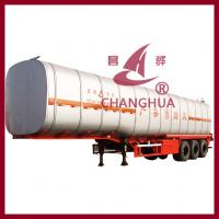 China Fuel Insulation Semi-Trailer Competitive Price/competitive price fuel tanker trailer/fuel tanker semi trailer on sale
