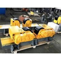 China Carry 30 Ton Tank Turning Rolls Heavy Duty Rotator For Pipes And Tanks wholesale