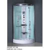 China Medium Jets quadrant shower cabin , all in one shower enclosure Electronic system wholesale