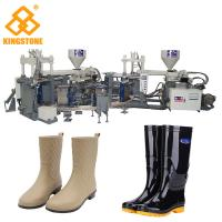 China Rain / Water Boot / Gumboot/ mineral worker boot Dual Injection MoldingMachine Rotary Type wholesale