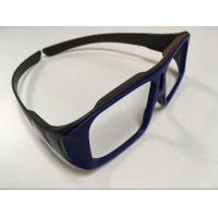 Buy cheap Unfolded Big Frame Linear Polarized 3D Glasses 0.23mm Lens Custom Color from wholesalers