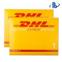 China DHL Courier Plastic Mailing Bags Tear Proof For Important Documents on sale