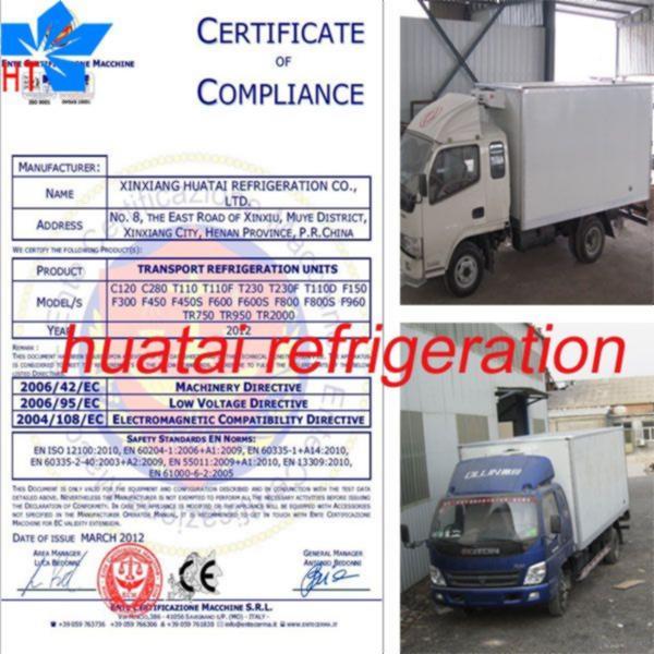 Refrigeration Small Boat Refrigeration Unit
