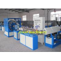 China High Efficiency Single Screw Pvc Pipe Extrusion Machine 8-25MM wholesale