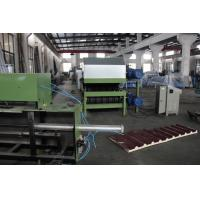 China 0.3-0.8 Mm Galvanized Steel PU Sandwich Panel Production Line Automatic Cooling System wholesale