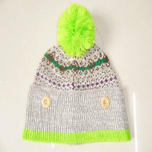 China 100% Acrylic Knitting Pattern Winter Hats and Caps wholesale