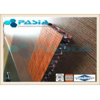 China HPL Attached Honeycomb Curtain Panels , Lightweight Furniture Panels Anti Bacterial wholesale