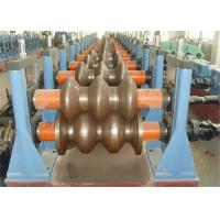 China W Beam Highway Guardrail Roll Forming Machine 380V 3phase GCR15 Roller 18-20MPa wholesale