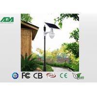 6W outdoor solar garden lights , solar led parking lot lights DC12V