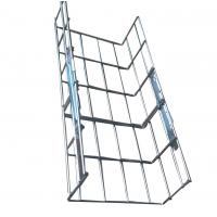 China Indoor or outdoor heavy duty straight wire mesh cable tray systems,200*100mm wholesale