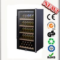 China 80 Bottles Mini Wne Cooler JF-80FS Wine Chiller No Vibration Wine Cabinets wholesale