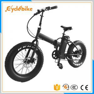 China 500w que dobram a bicicleta gorda elétrica 20x4.0 com conforto selam o Ce aprovado wholesale