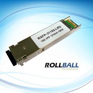 China XFP ER TR x 1550nm 40KM 10 Gigabit Ethernet Fiber Optical Transceiver Module With SMF wholesale